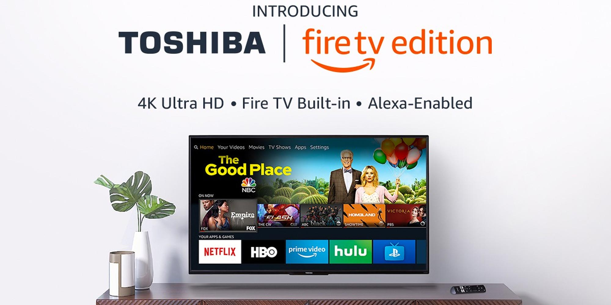 Upgrade your home theater w/ Toshiba's 50-inch 4K Fire TV Edition for $300 (Reg. $380)