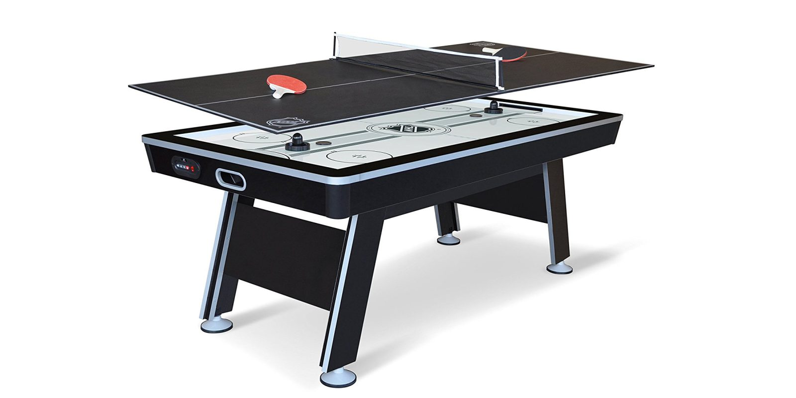 Bring home an 80″ Powered Air Hockey + Ping Pong Table: $139 (Reg. up to $330)
