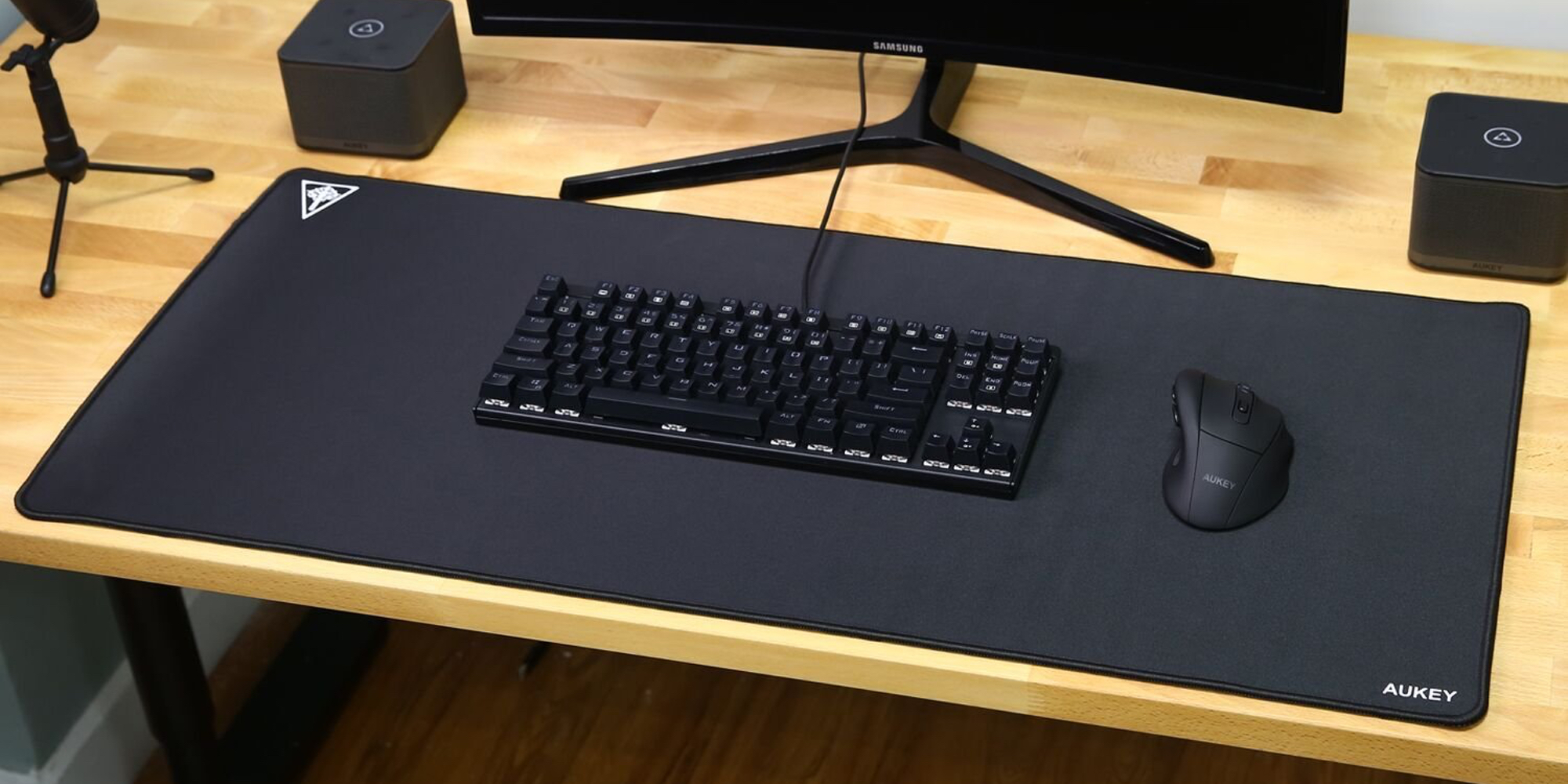 Aukey Gaming Mousepad Is Down To 12 Prime Shipped 9to5toys