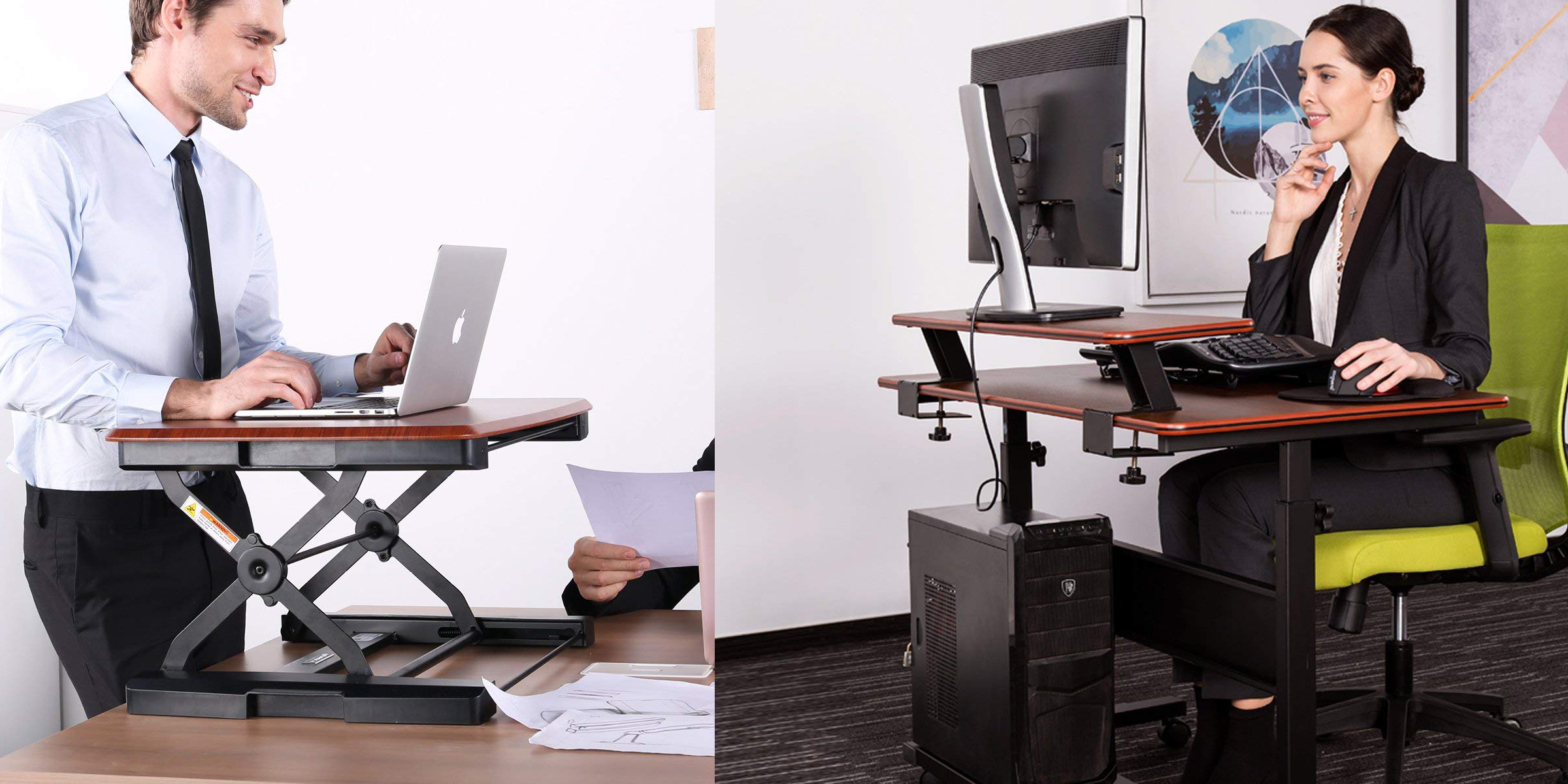 Amazon 1 Day Office Sale From $21.50: Standing Desk Converter $147, More