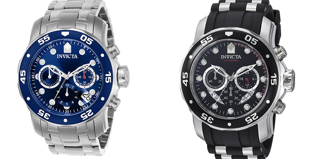 Save up to 65% off Invicta watches at Amazon just in time for Father's Day w/ deals from $33