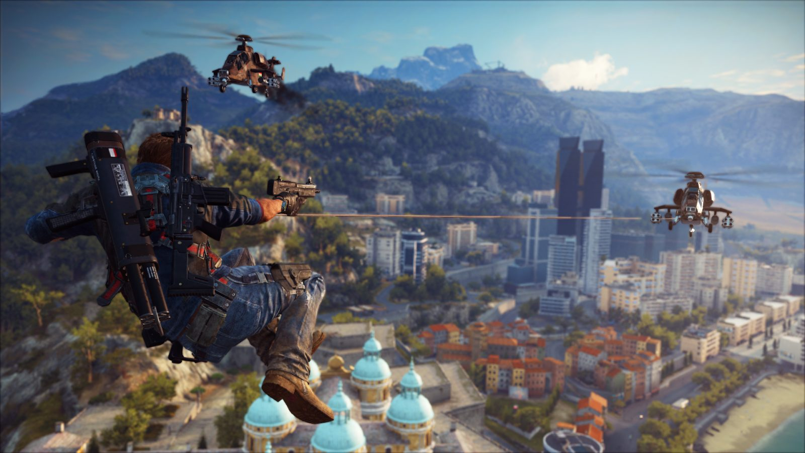 how to get fast travel in just cause 3