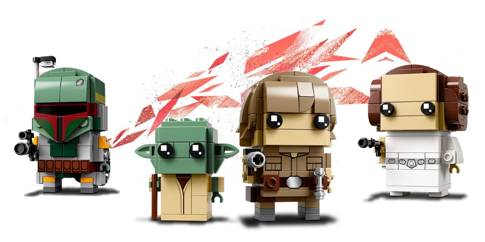 The Force Is Strong With These New Luke Leia And Boba Fett Lego