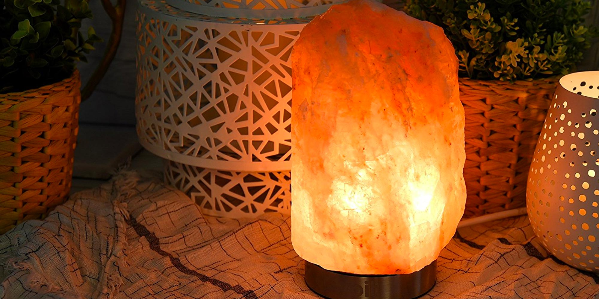 Illuminate your life w/ these Himalayan Salt Lamp deals from $30, today only