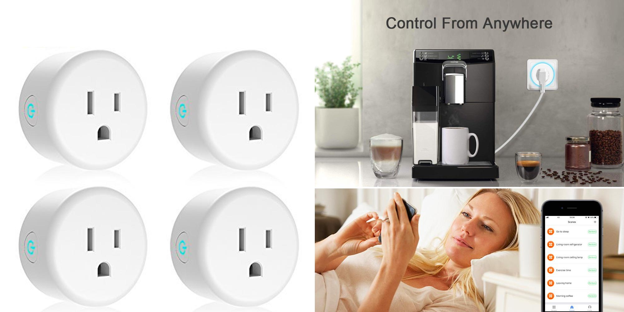 Control multiple devices w/ this 6-pack of smart Wi-Fi outlets for $28.50 shipped (50% off)
