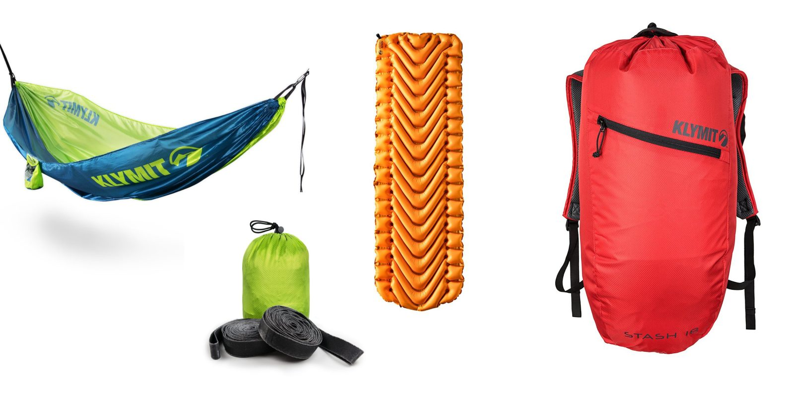 Amazon has 40% off Klymit camping gear from $14: hammocks, backpacks, sleeping bags, more
