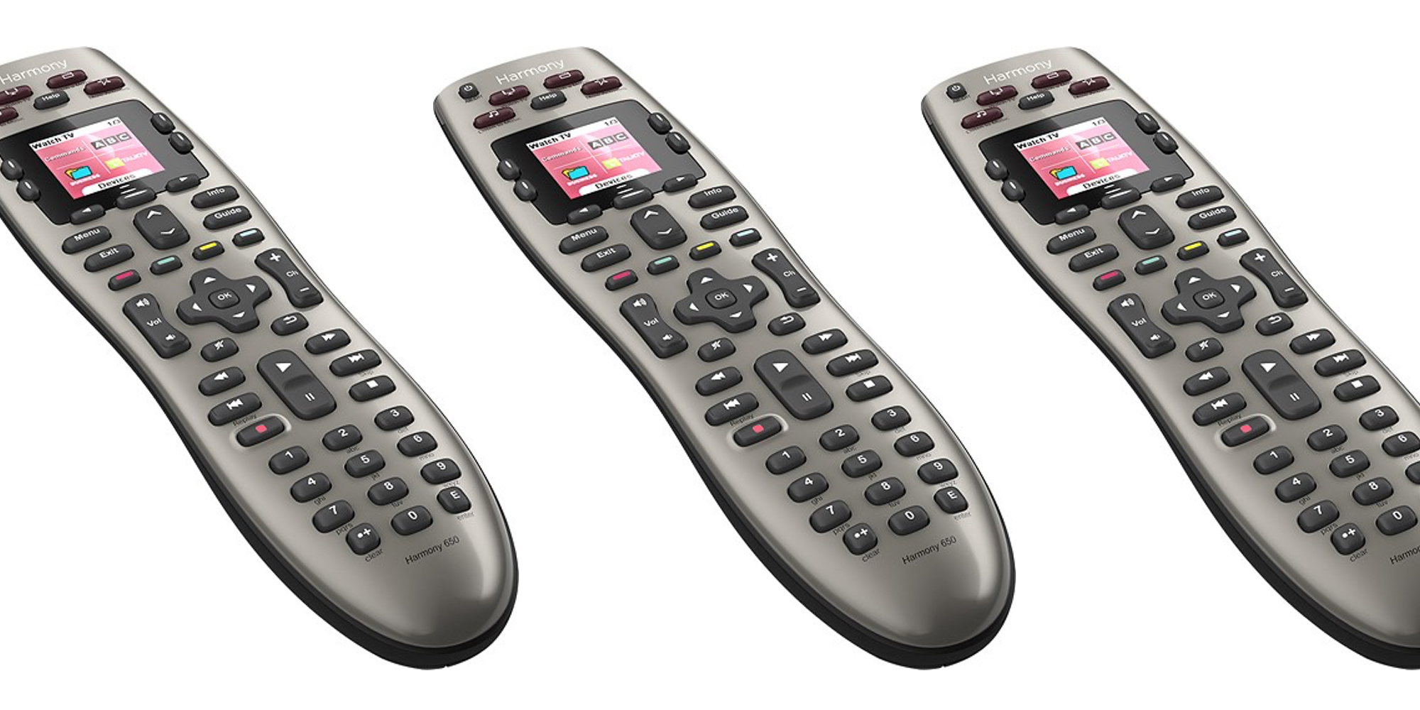 Consolidate your remotes into one with the Logitech Harmony for $30 (25% off)
