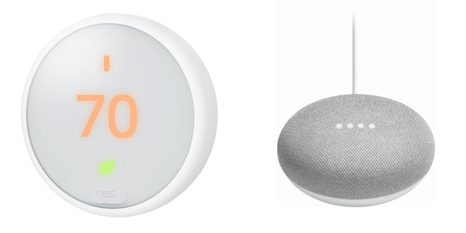 Nest E Smart Thermostats Are On Sale W A Bundled Google Home Mini 139 210 Value