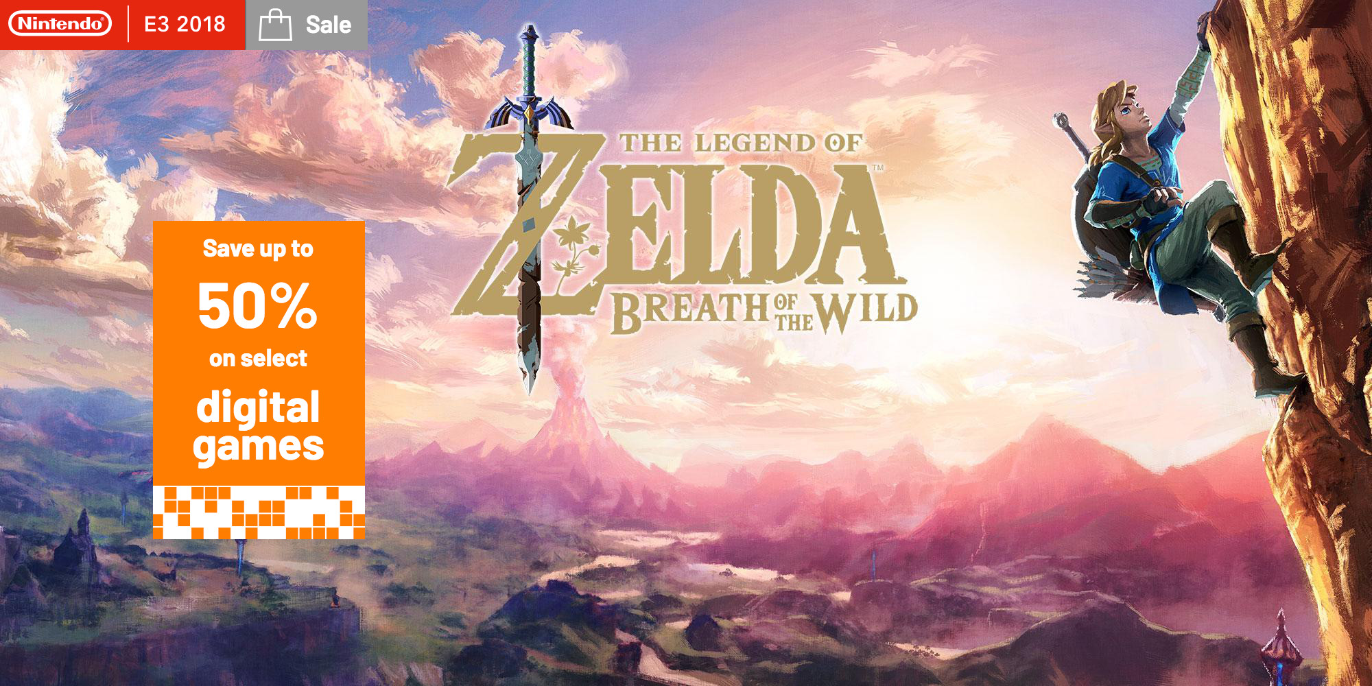 Nintendo E3 2018 Eshop Sale From 6 Zelda Breath Of The Wild 3ds Metroid Samus Returns Special Edition Reg Us Rocket League Much More 9to5toys
