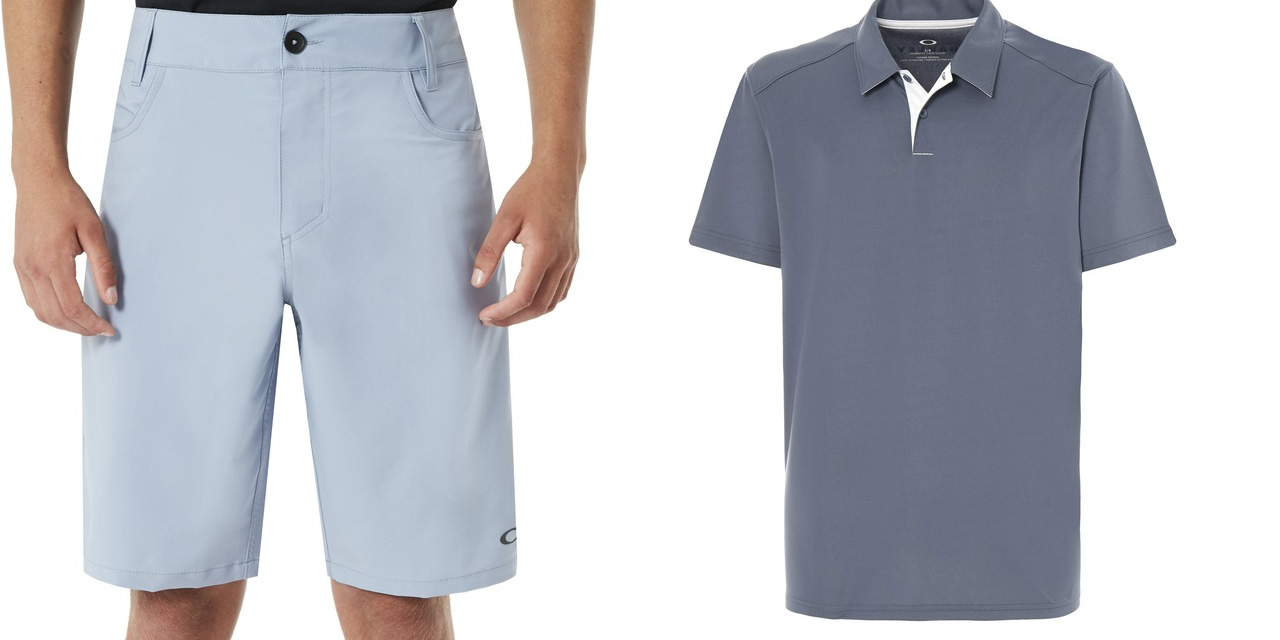 Oakley polo shirts, boardshorts, pullovers and more at 50% off + free shipping
