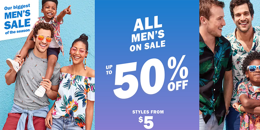Old Navy takes up to 50% off sitewide to refresh your wardrobe