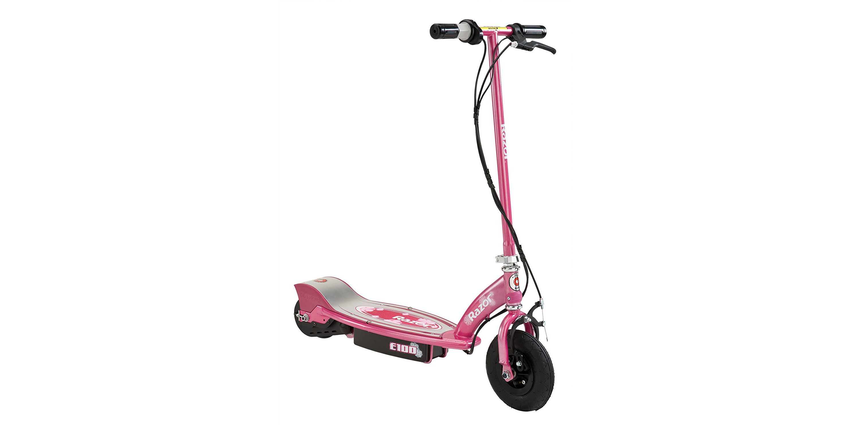 Hit the road on a Razor E100 Electric Scooter for $77