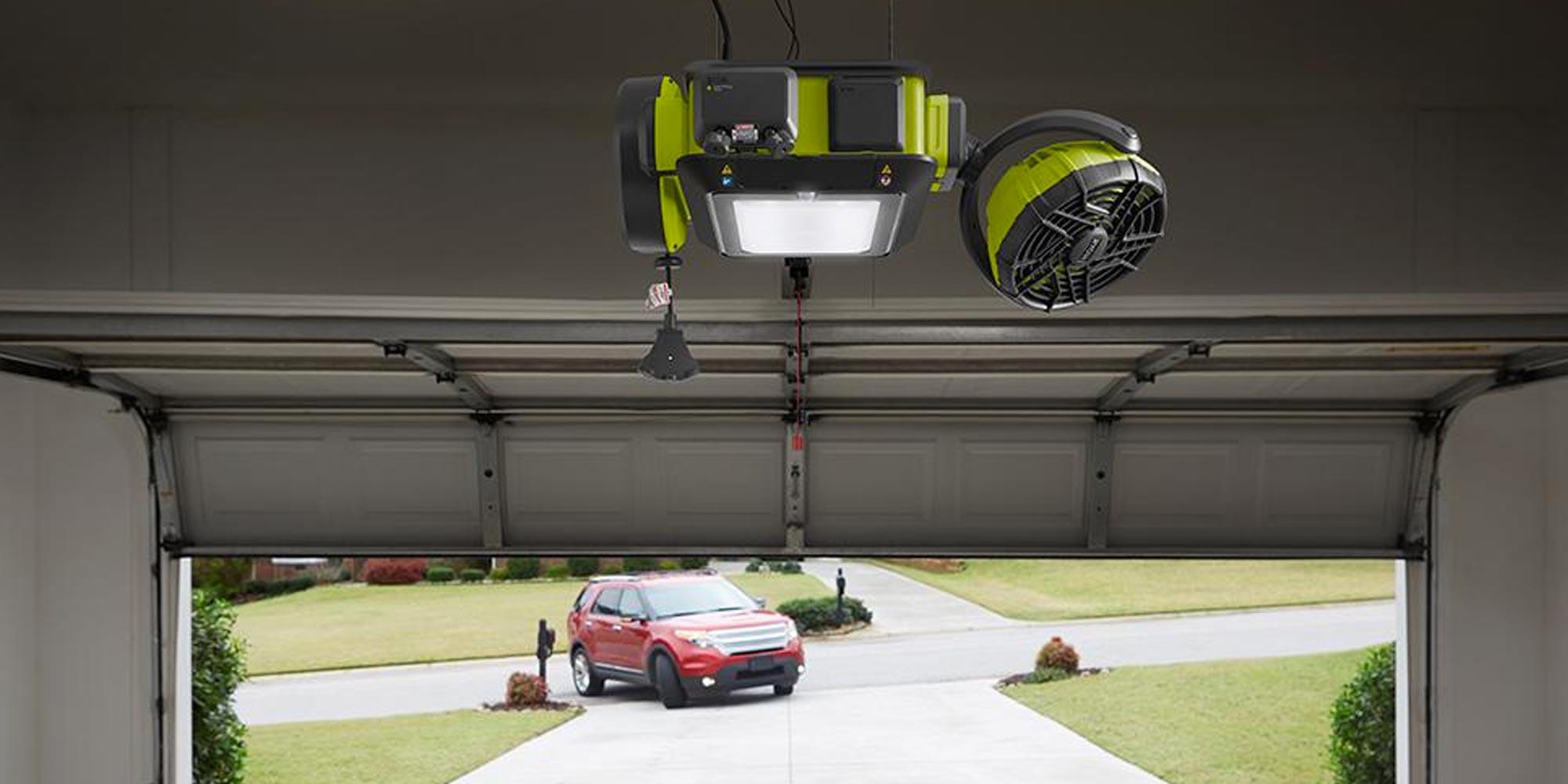 Control your garage door remotely w/ this Ryobi opener for $148 (Reg. $250)