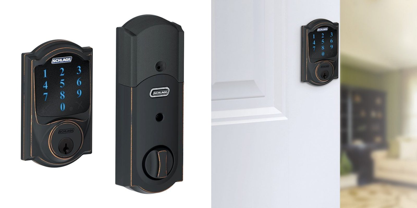Schlage and Kwikset smart locks are on sale today at Amazon