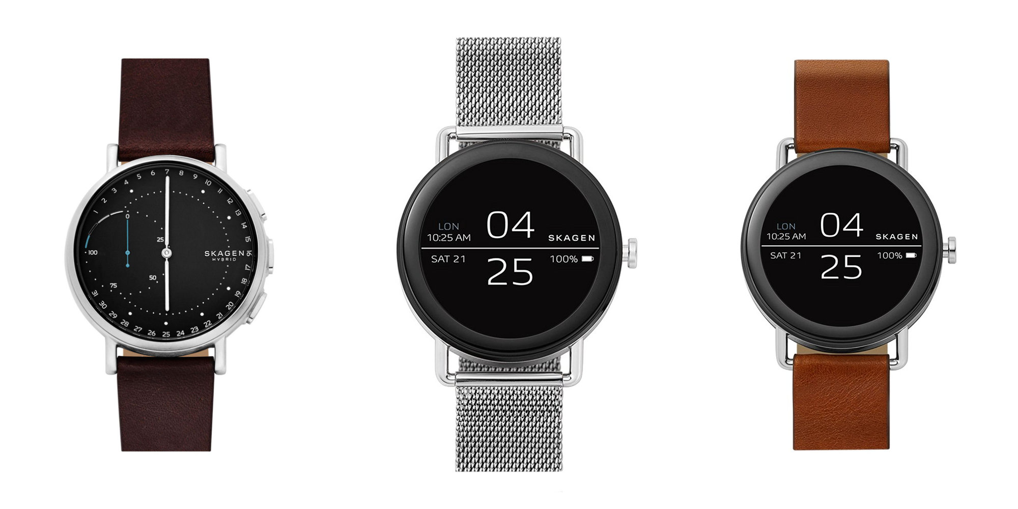 Strap on Skagen's Falster Smartwatch for $199 (Reg. $295), more from $95