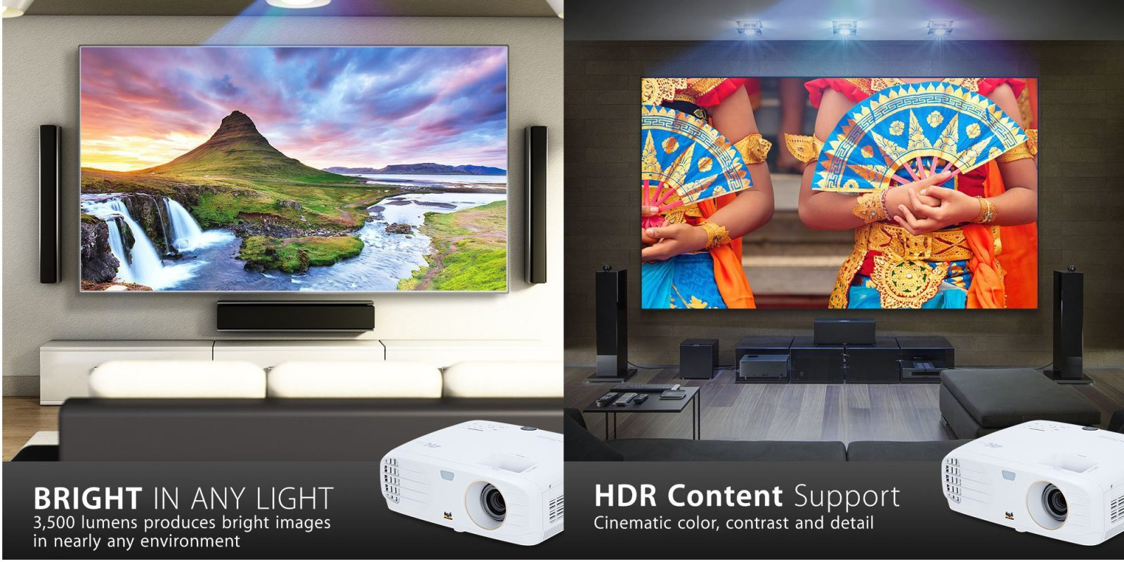 ViewSonic's 4K Home Theater Projector w/ HDMI now $300+ off for