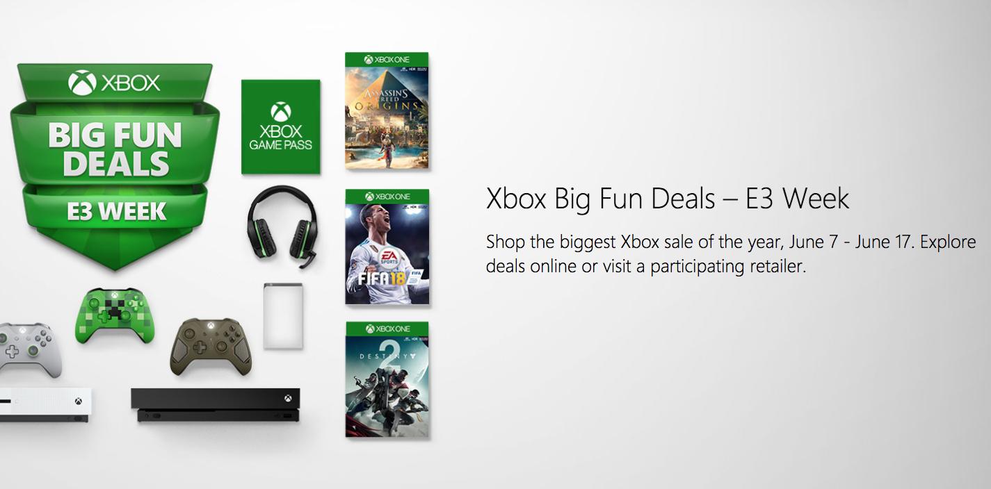 Microsofts E3 2018 Sale Now Live Game Passlive Gold 1