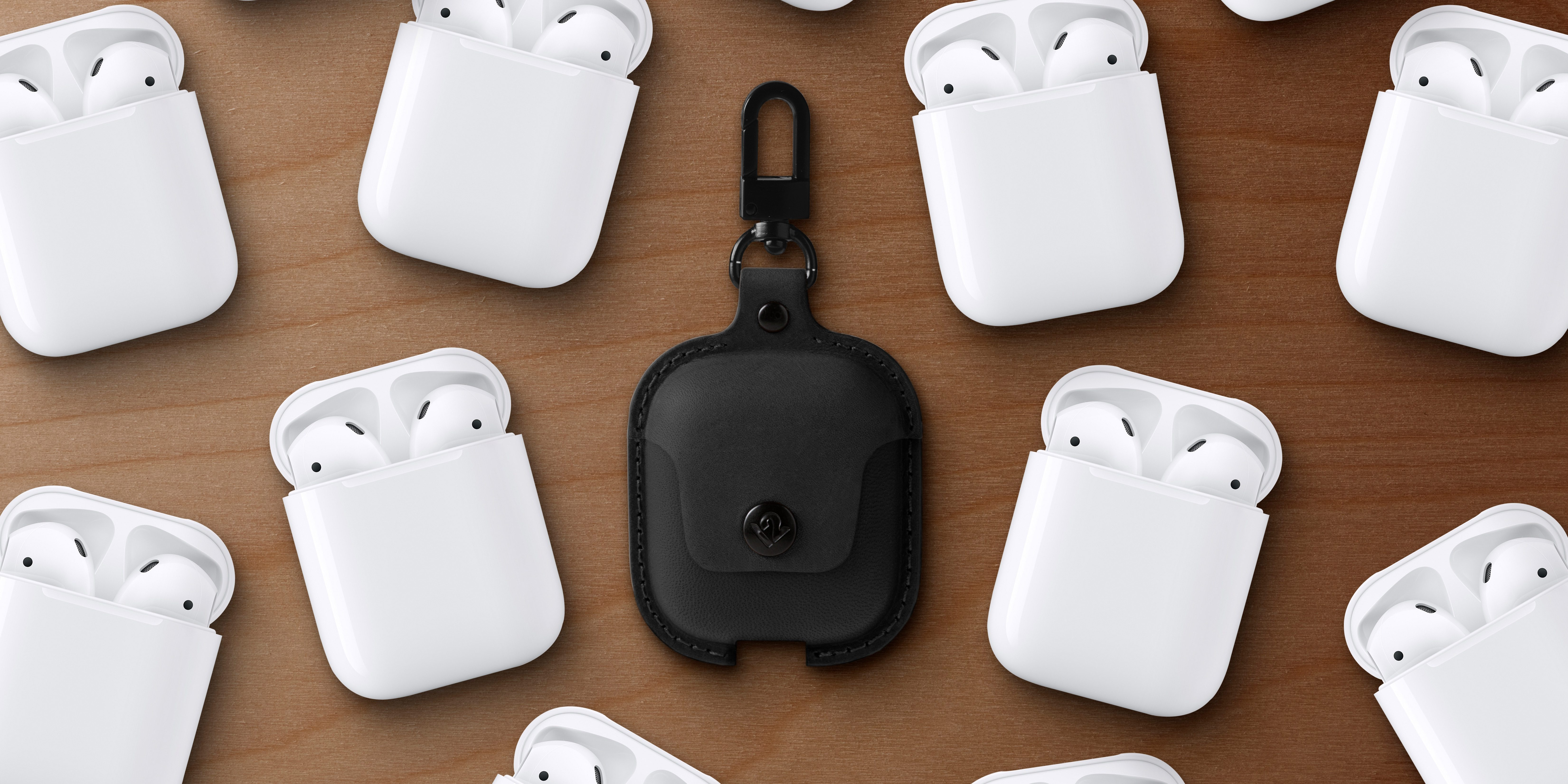 AirSnap by Twelve South secures AirPods to your backpack in stylish leather case