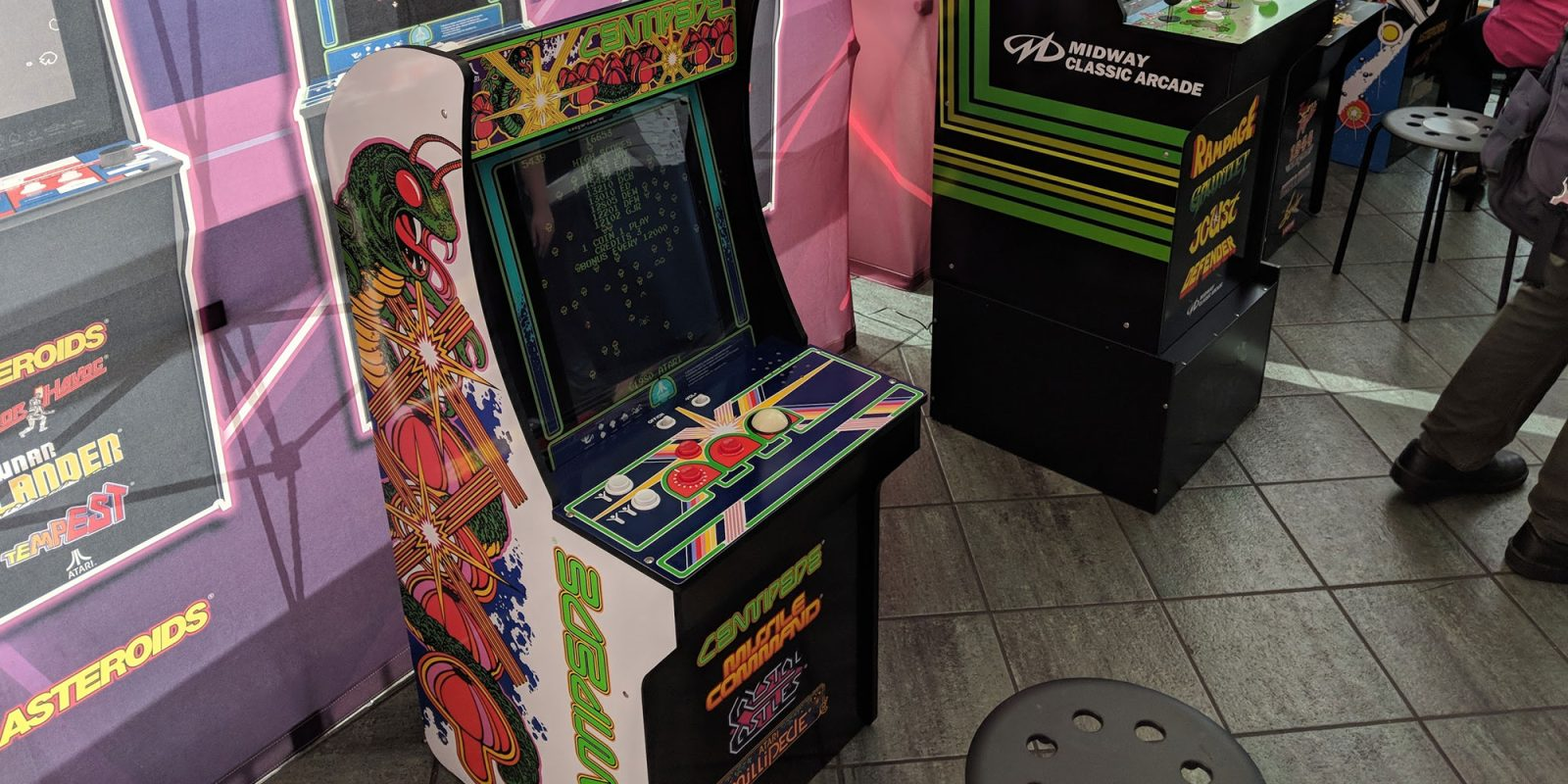 Take over $100 off of the upcoming Arcade1Up Retro Gaming