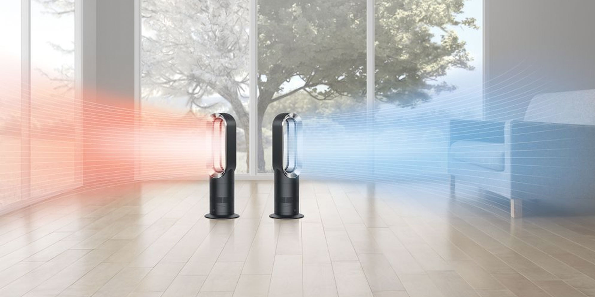 dyson 39 s am09 bladeless fan can heat or cool your home at 156 refurb orig 449 9to5toys. Black Bedroom Furniture Sets. Home Design Ideas