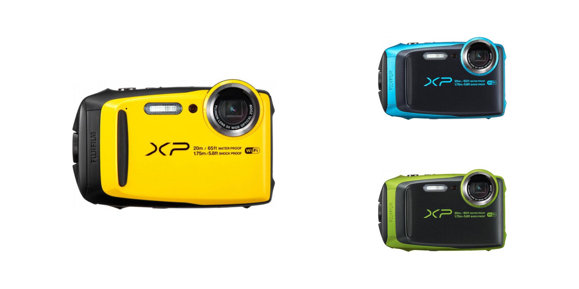 Snap photos 65-feet underwater w/ Fujifilm's FinePix Digital Camera: $99 (Refurb, Orig. $200)