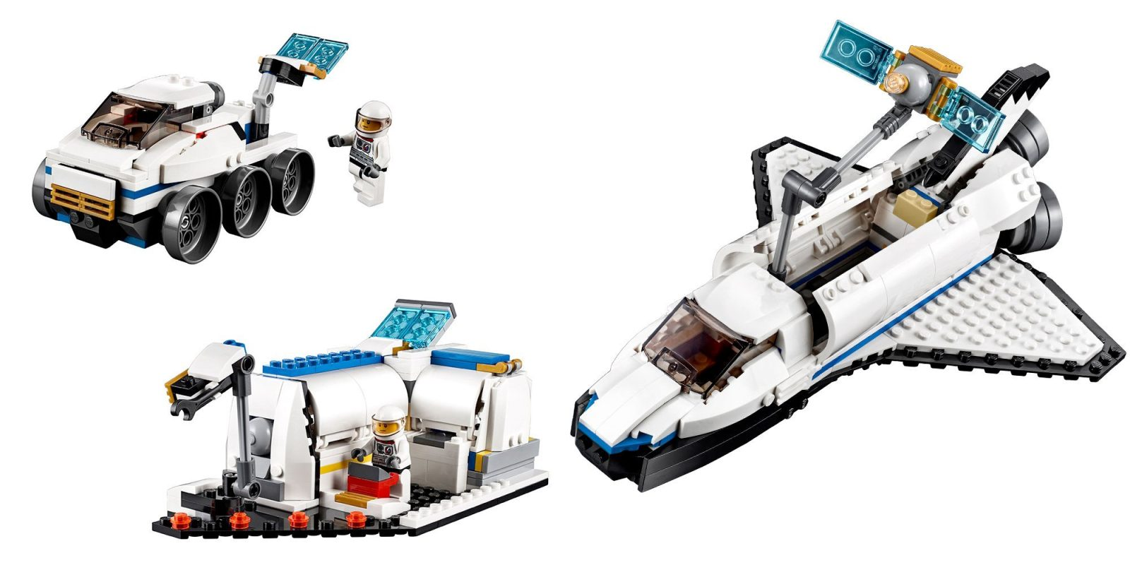 space shuttle explorer lego - photo #14
