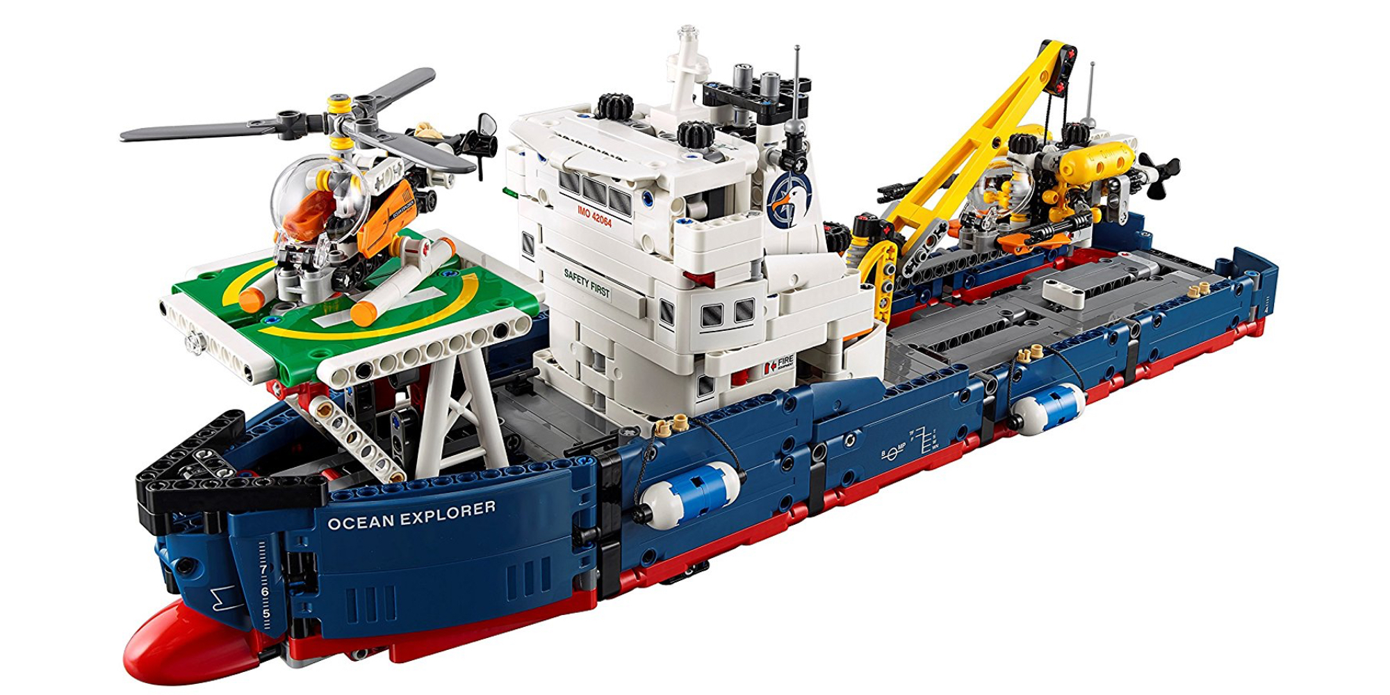 Assemble LEGO's 1,300-piece Ocean Explorer for $95 (30% off), more from $29