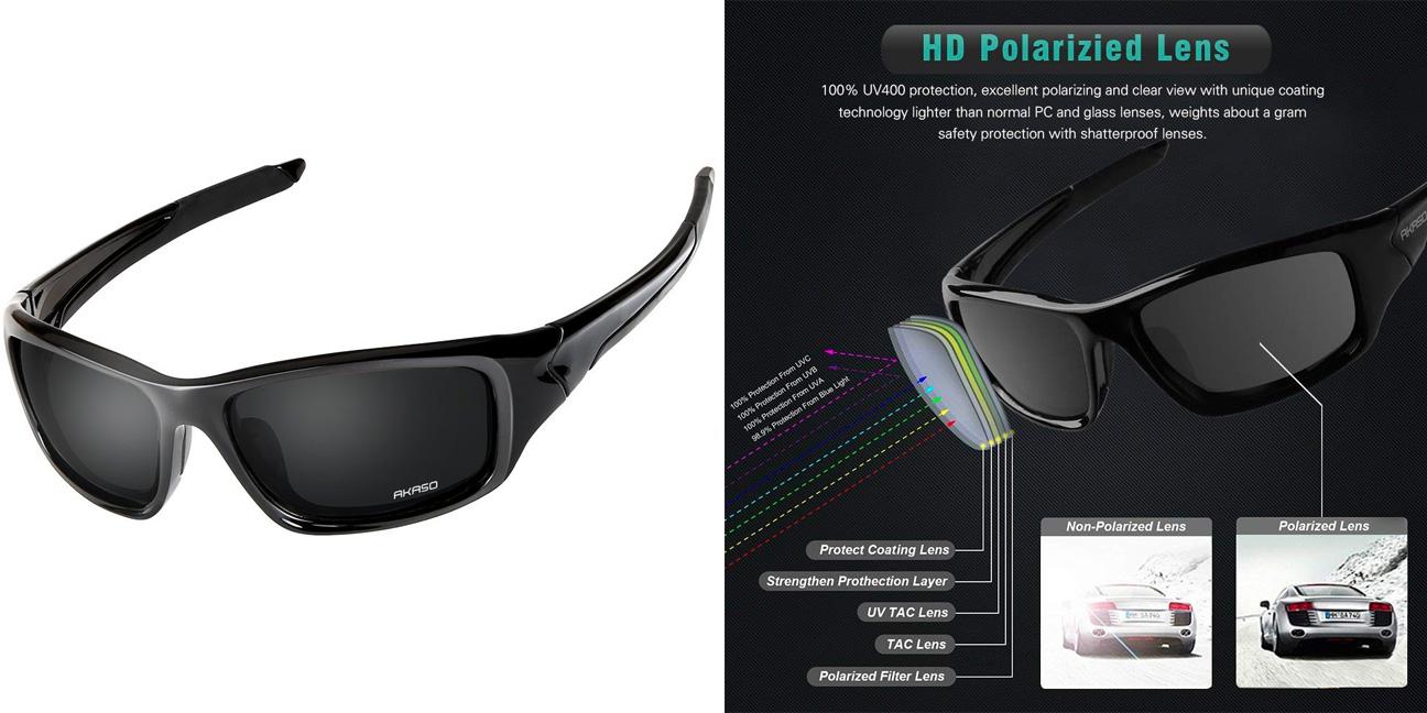 9f40e6b5d15 Polarized sport sunglasses perfect for driving