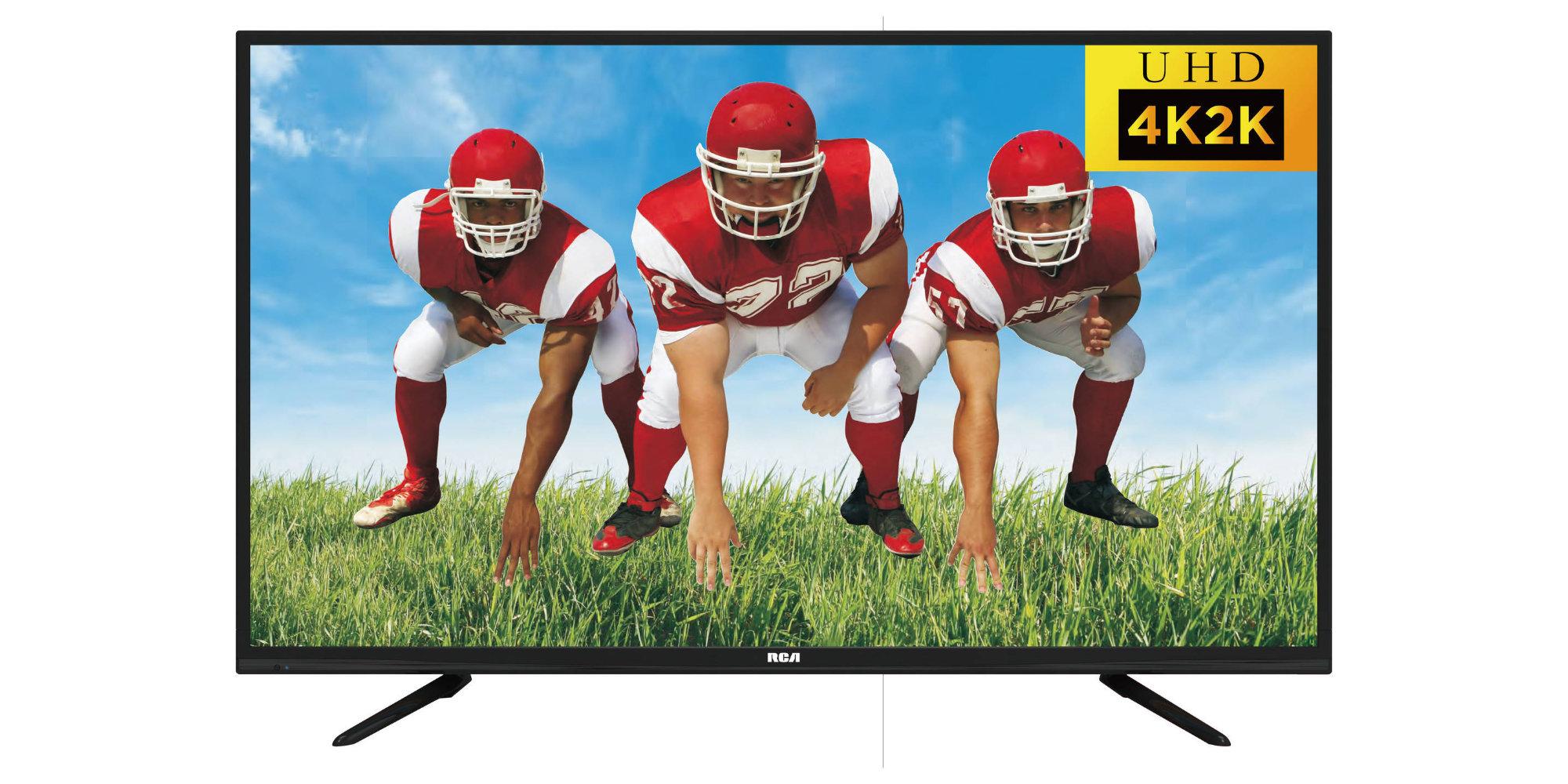 Make the switch to 4K w/ RCA's 50-inch UHDTV, now $240 (Reg. $300+)