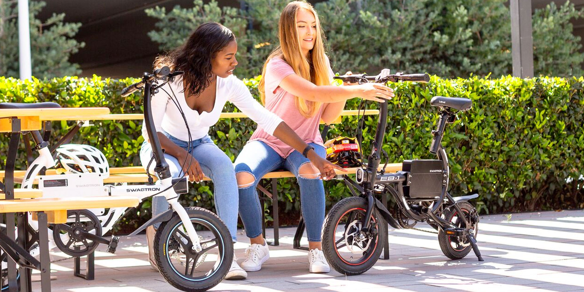 The SWAGTRON EB1 is a foldable eBike that can go over 12MPH