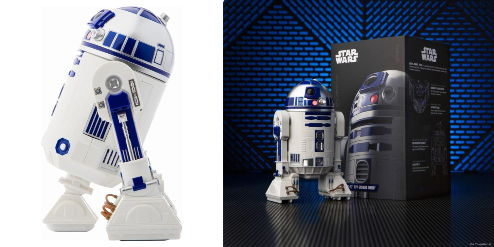 Sphero's app-enabled R2-D2 drops to a new low of $36 at Amazon and Kohl's