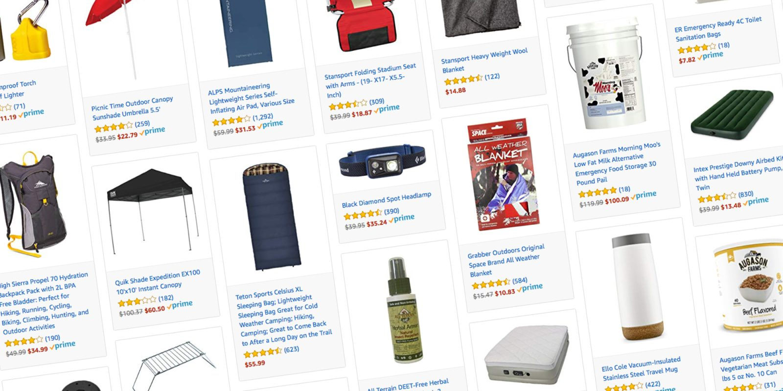 Amazon Discounts Camping And Outdoor Gear With Deals From