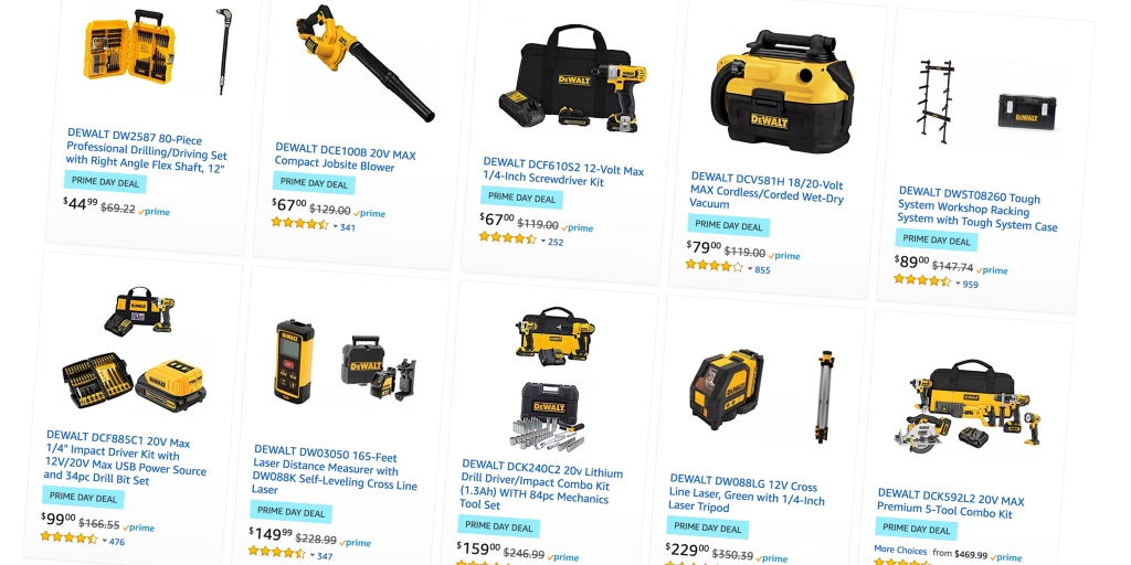 Dewalt Dremel And Gerber Tools Up To 60 Off For Prime Day With Deals From 7 9to5toys