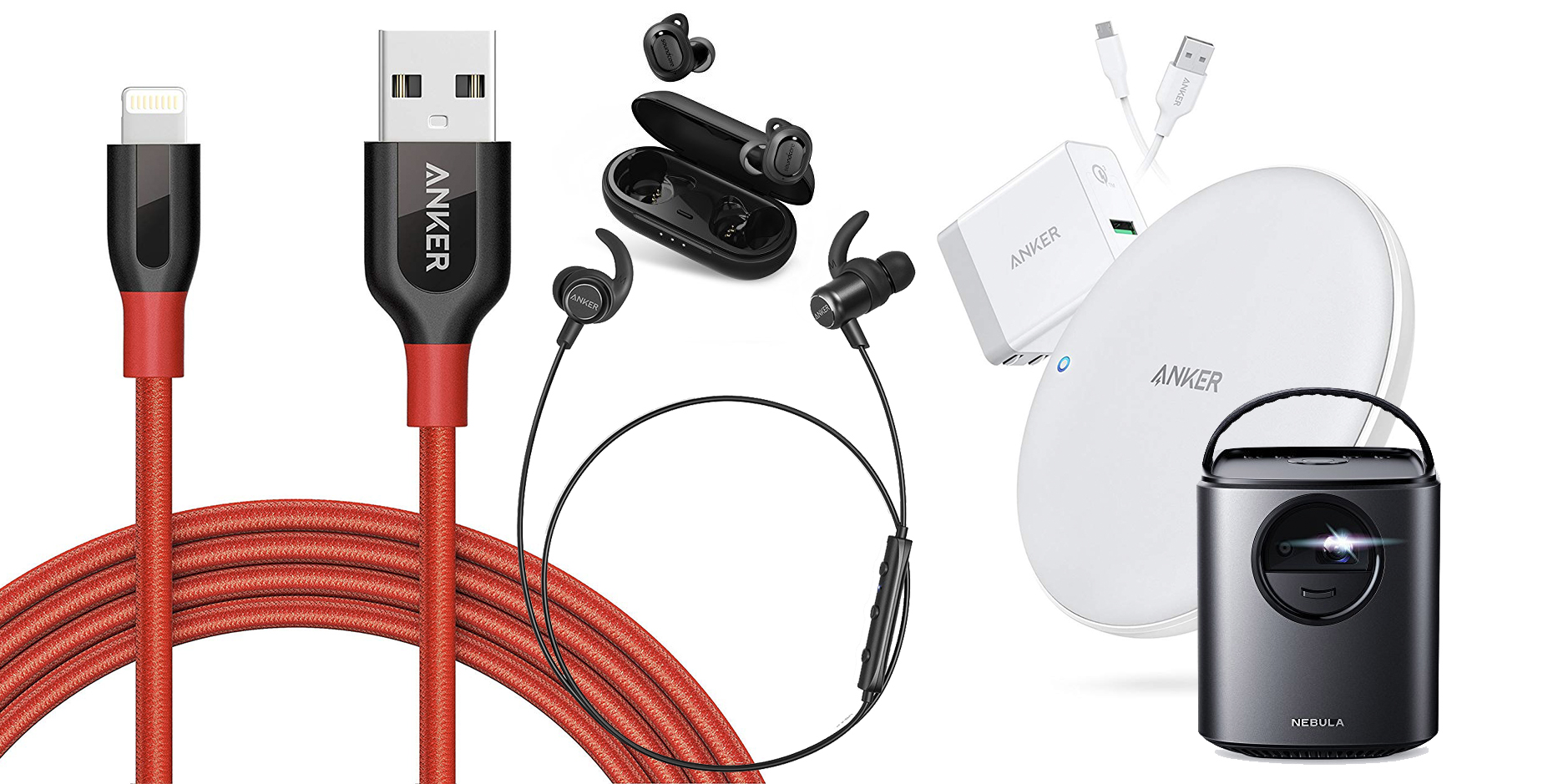 Anker's latest Amazon sale has deals from $13: Truly Wireless Earbuds, Lightning Cables, more