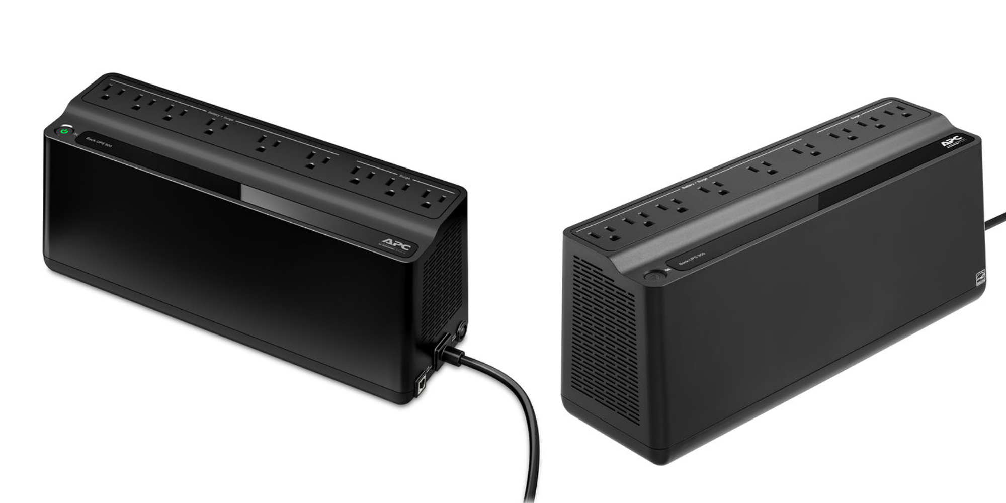 APC's 900VA Nine-Outlet UPS keeps your Wi-Fi running when the power's out: $72 (Reg. $100)