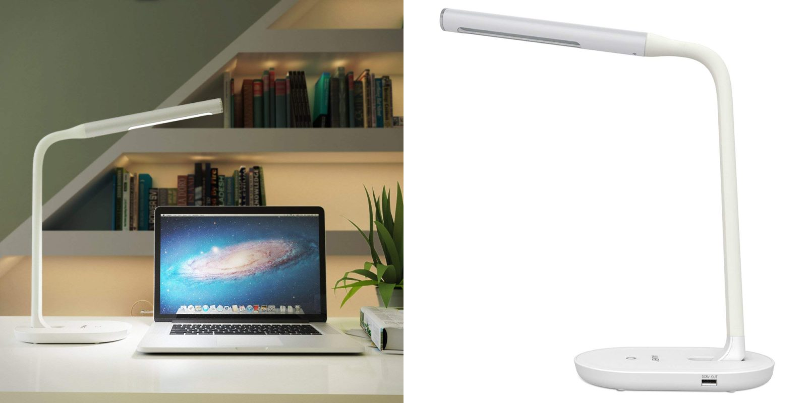 Smartphone Accessories Aukey Led Desk Lamp W 2a Usb