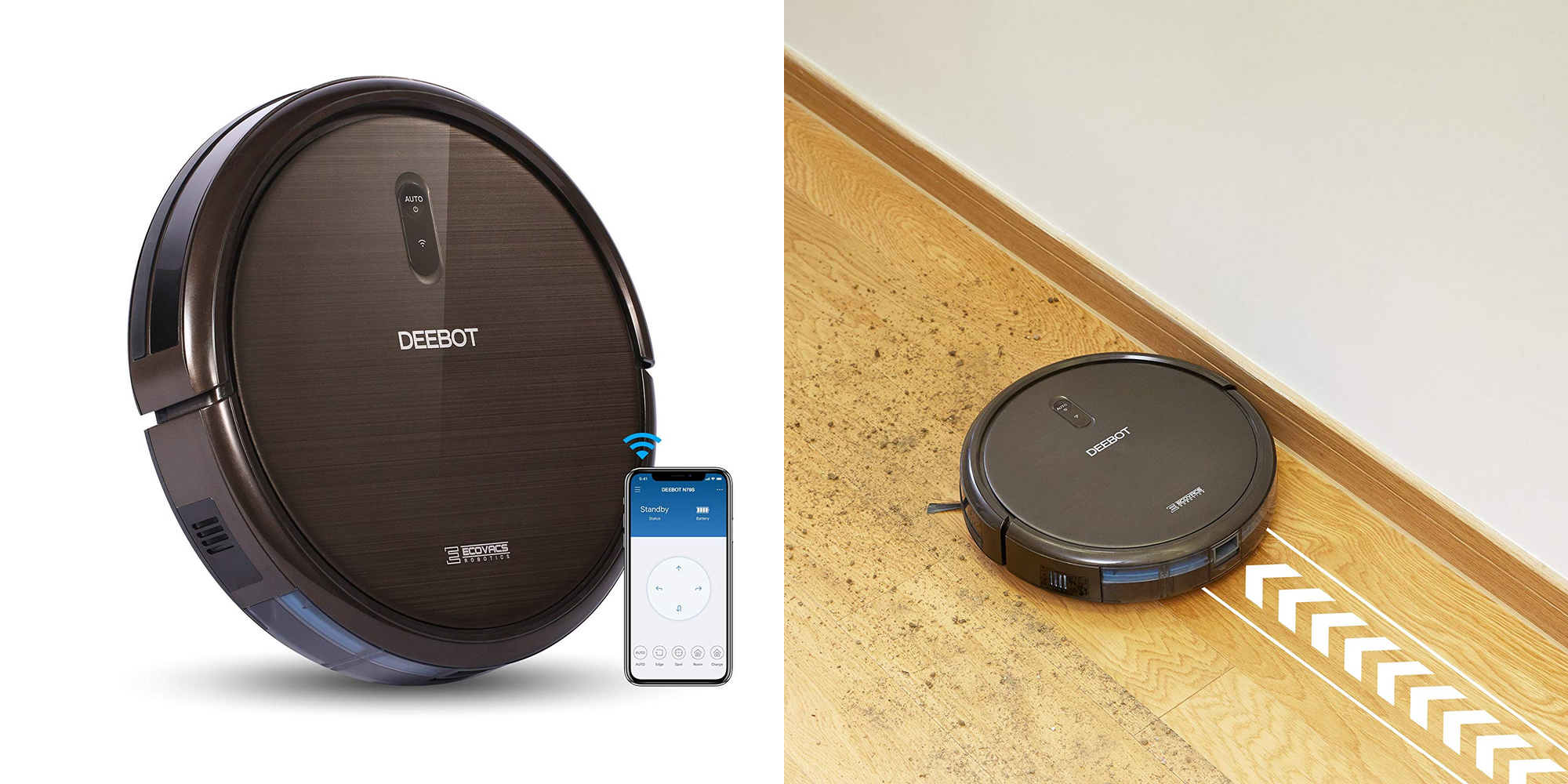 Get the Alexa-enabled Ecovacs DEEBOT N79S Robotic Vacuum for $160 (Reg. $200) + more