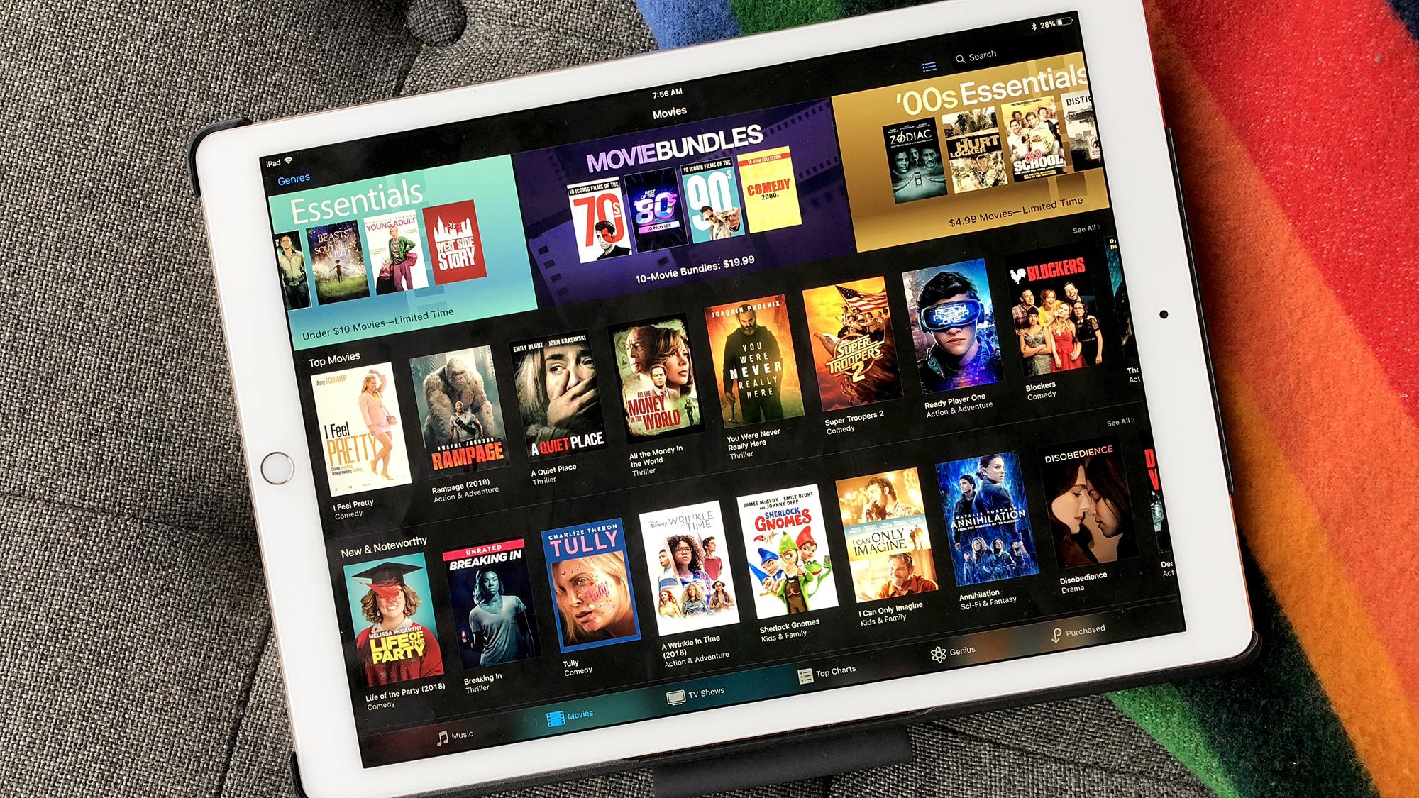 iTunes launches massive movie sale: 10-film bundles $20, $5 essentials, much more