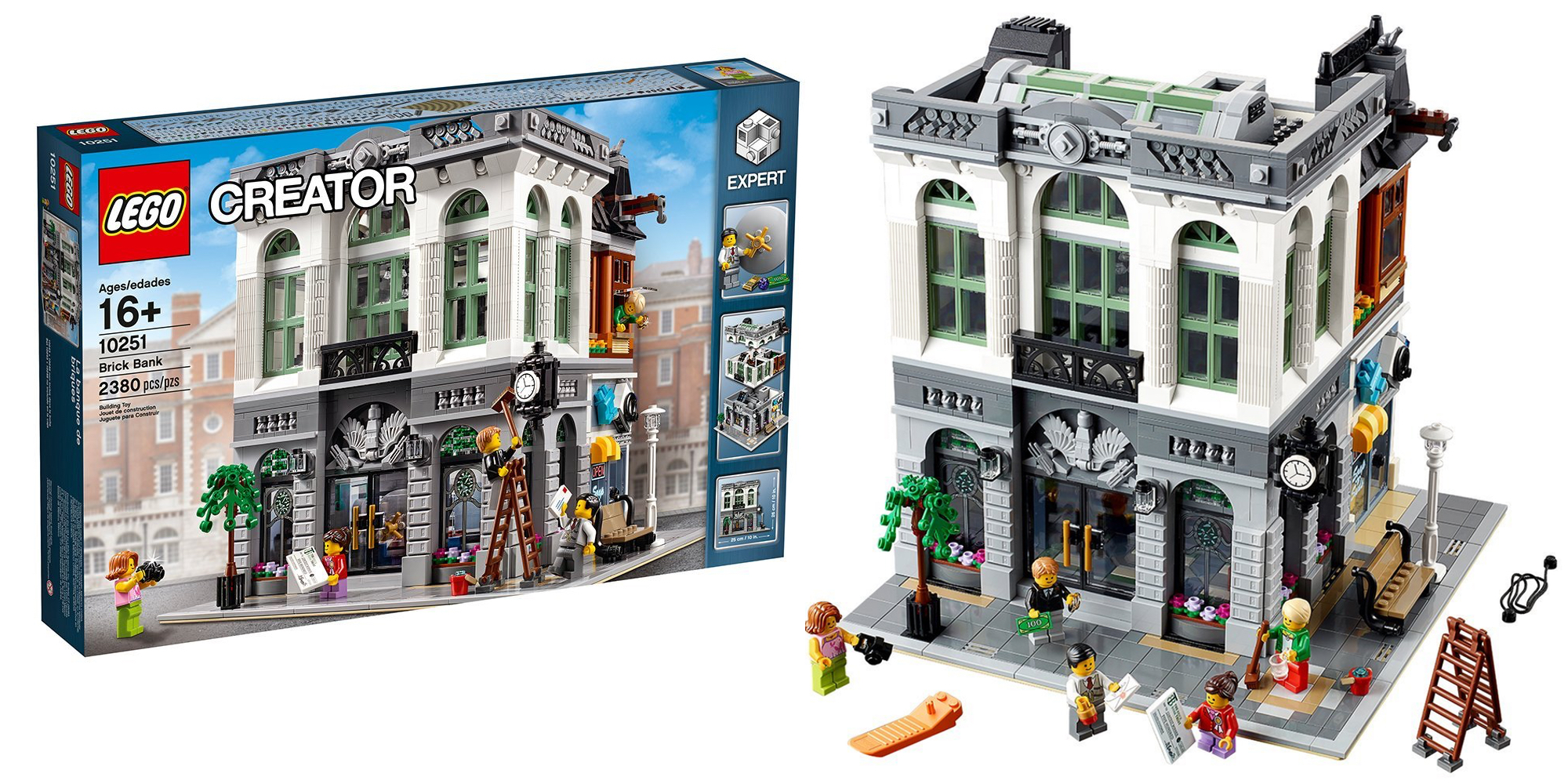 lego 39 s 2 300 piece brick bank set has never been lower. Black Bedroom Furniture Sets. Home Design Ideas