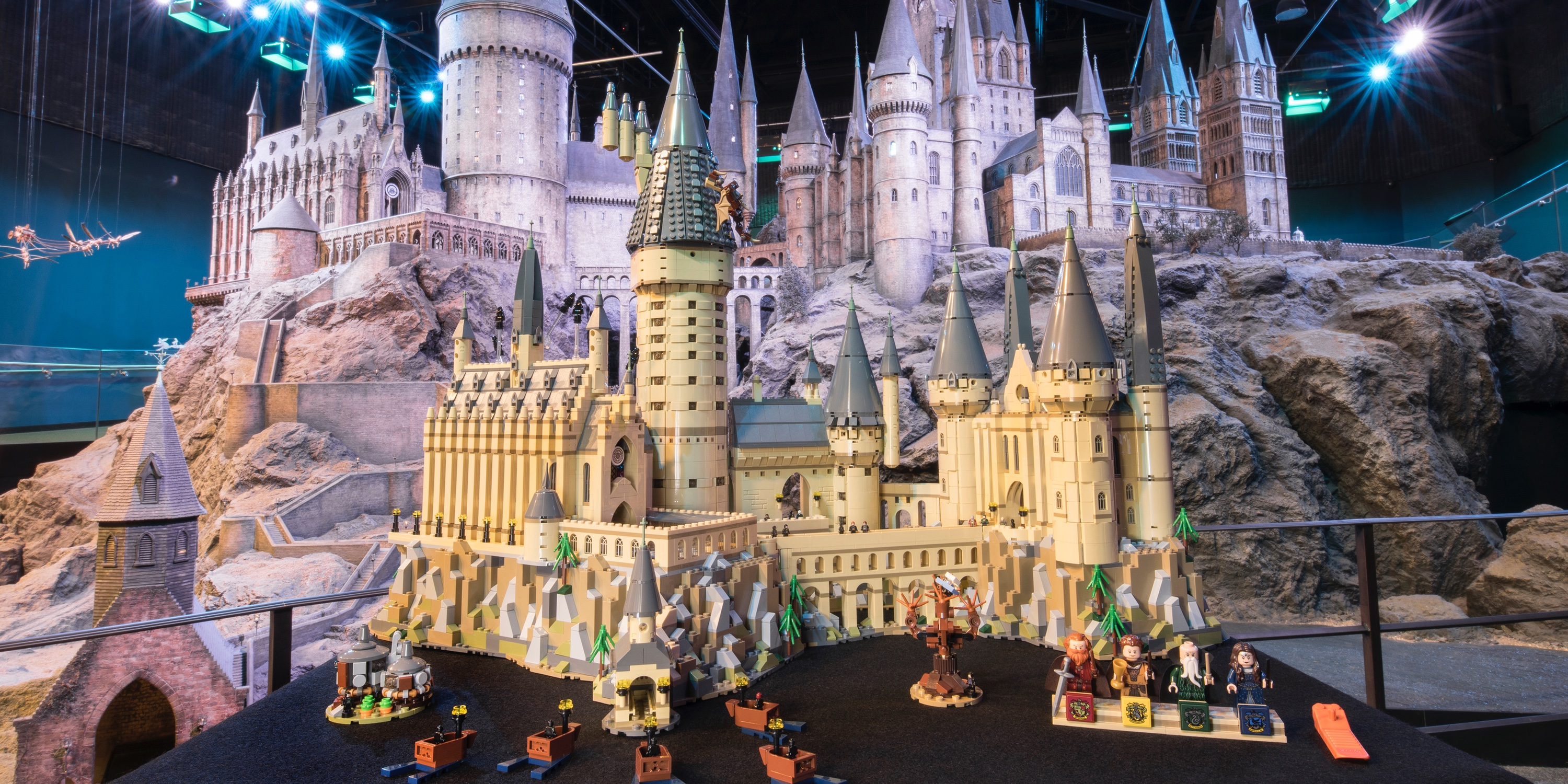 LEGO brings all the magic of Hogwarts Castle to a massive 6,000-piece brick-built release