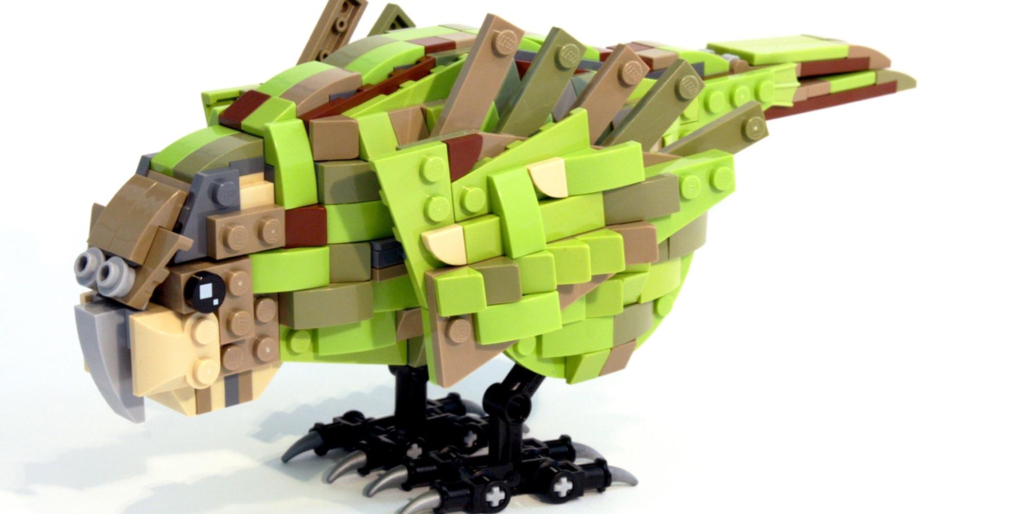LEGO Ideas Kakapo