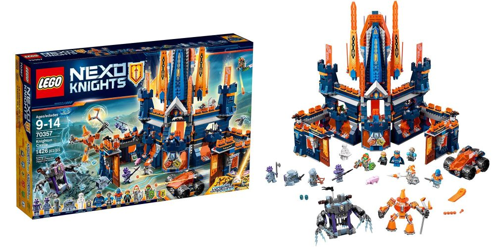 This 1,400-piece LEGO Nexo Knights Castle set falls to new low at