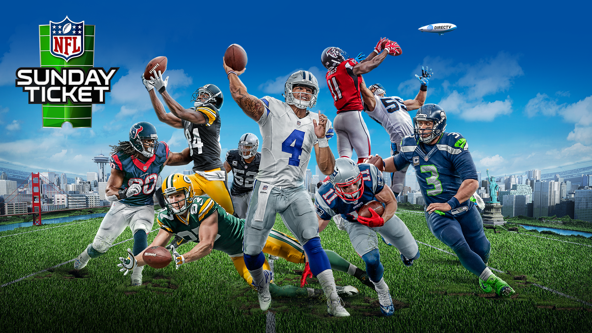 Right now, NFL SUNDAY TICKET is included With DIRECTV CHOICE at just $45 per month for 12 months. Get all the games, all the time! Click for more details. 5/5(5).