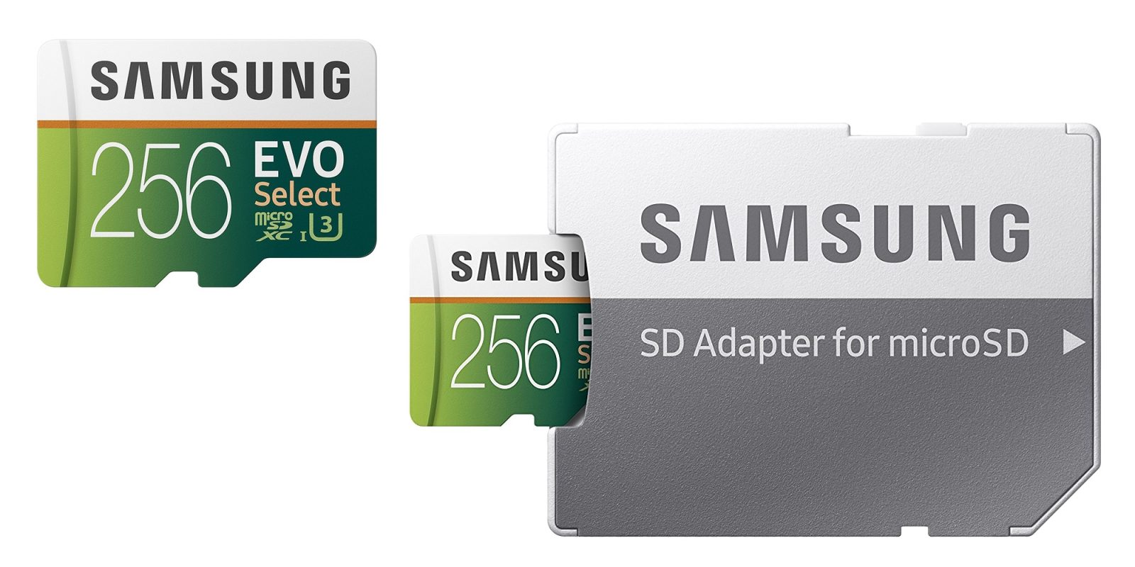 Amazon offers Samsung microSD storage on sale: 128GB $21 or 256GB $48 (Reg. up to $65), more