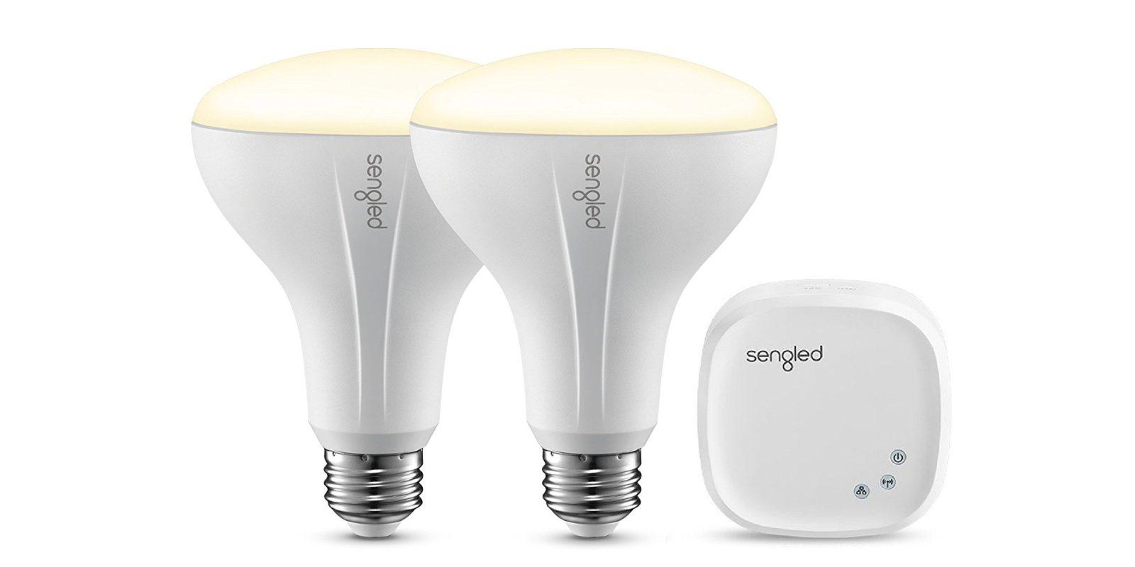 Sengleds Br30 Smart Led Light Bulb Starter Kit Falls Within 2 Of Fluorescent Lamp Lights All Time Low At 5050