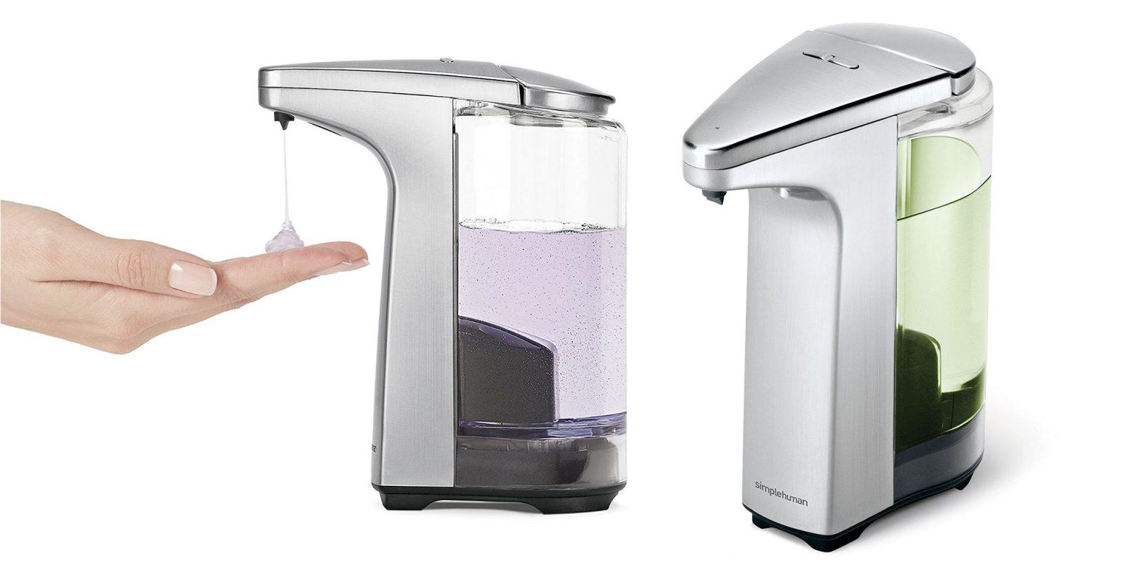 Get Soap Hands Free W This Simplehuman Sensor Based Dispenser At 32 50