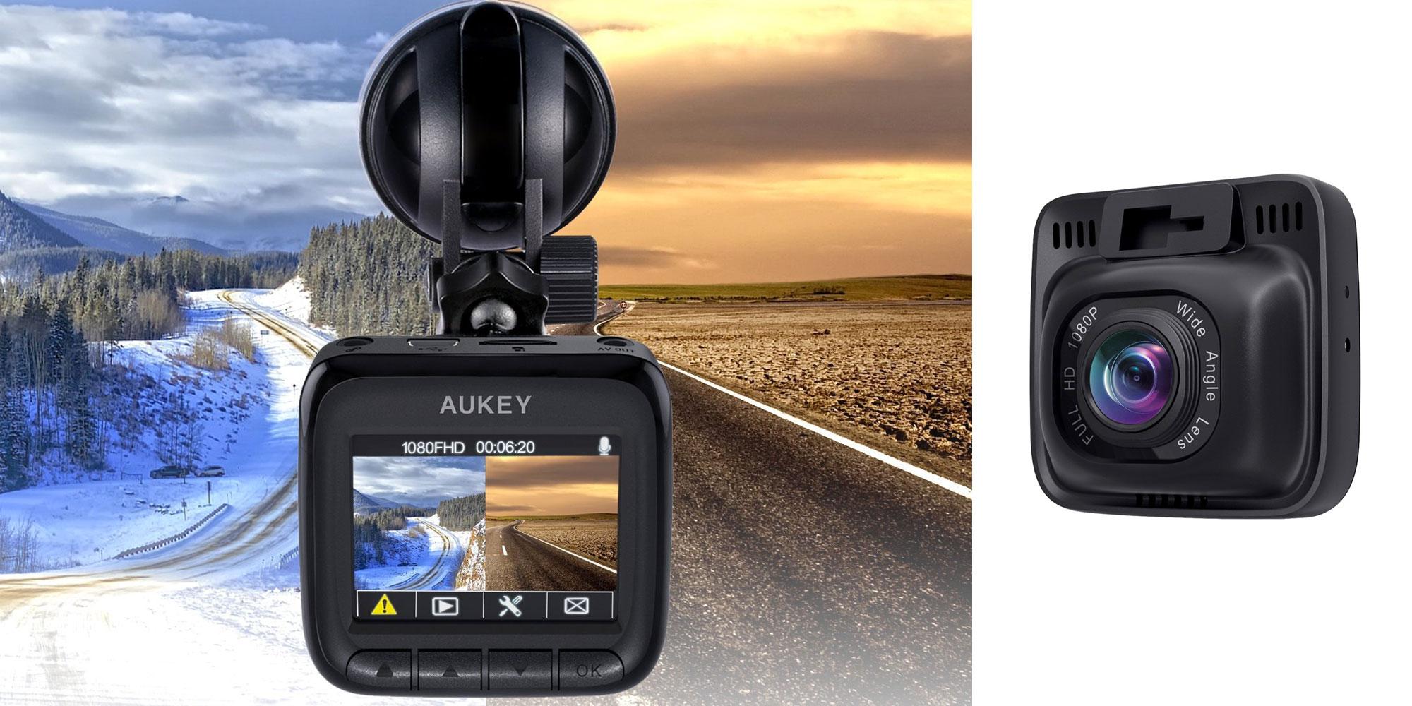 aukey 39 s 6 lane 1080p dash cam keeps track of your drives. Black Bedroom Furniture Sets. Home Design Ideas