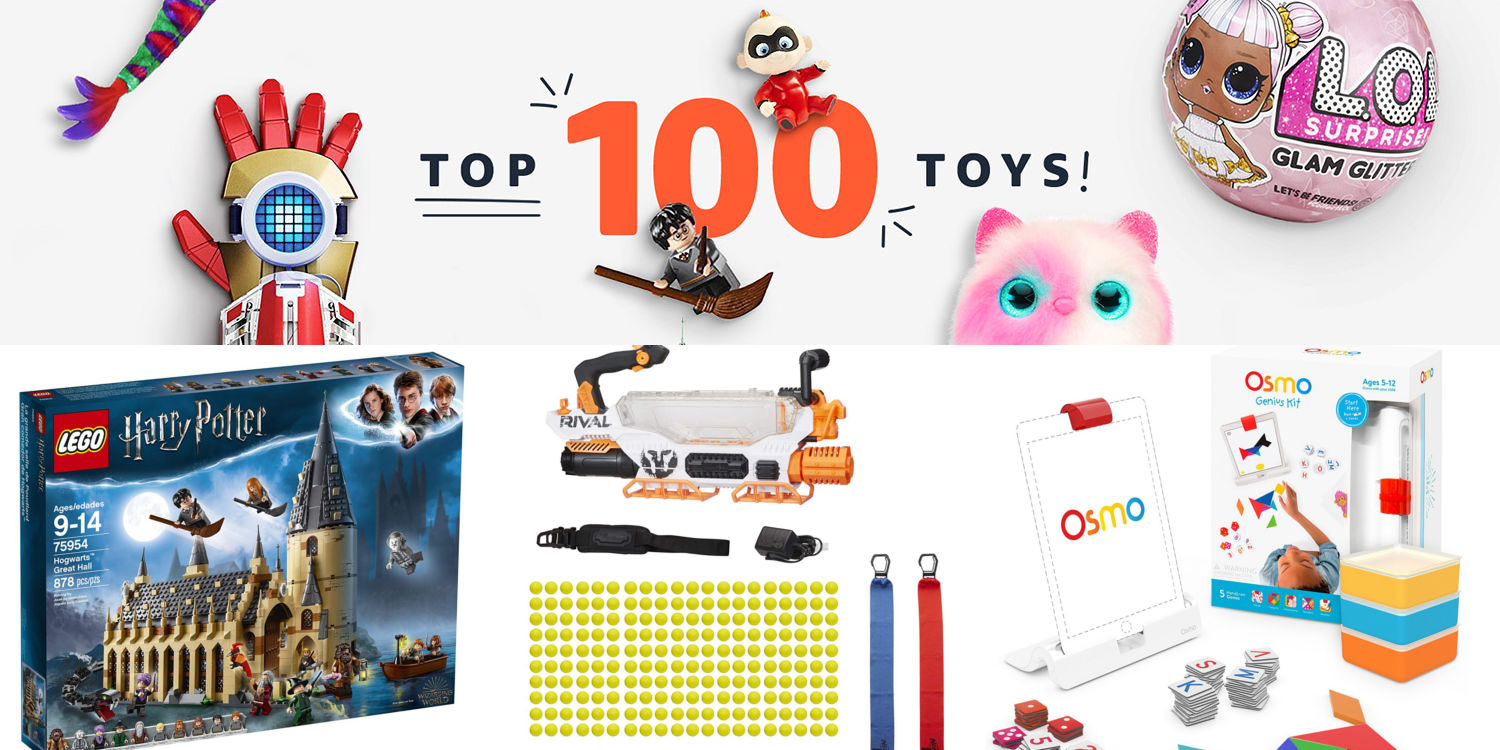 2018 Popular Toys : Amazon unveils top toys of list lego nerf