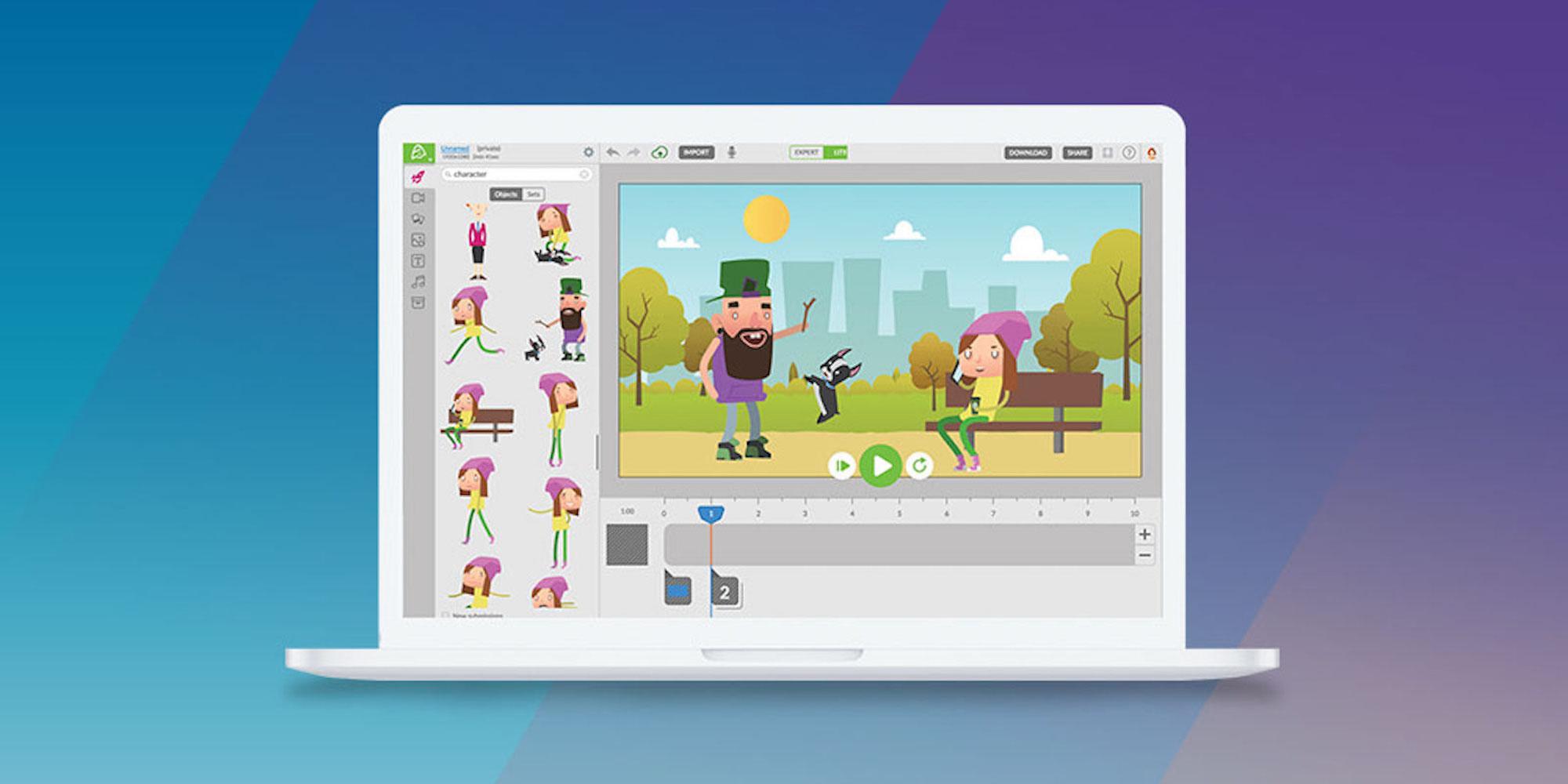 Create video animations easily with Animatron Studio for $50