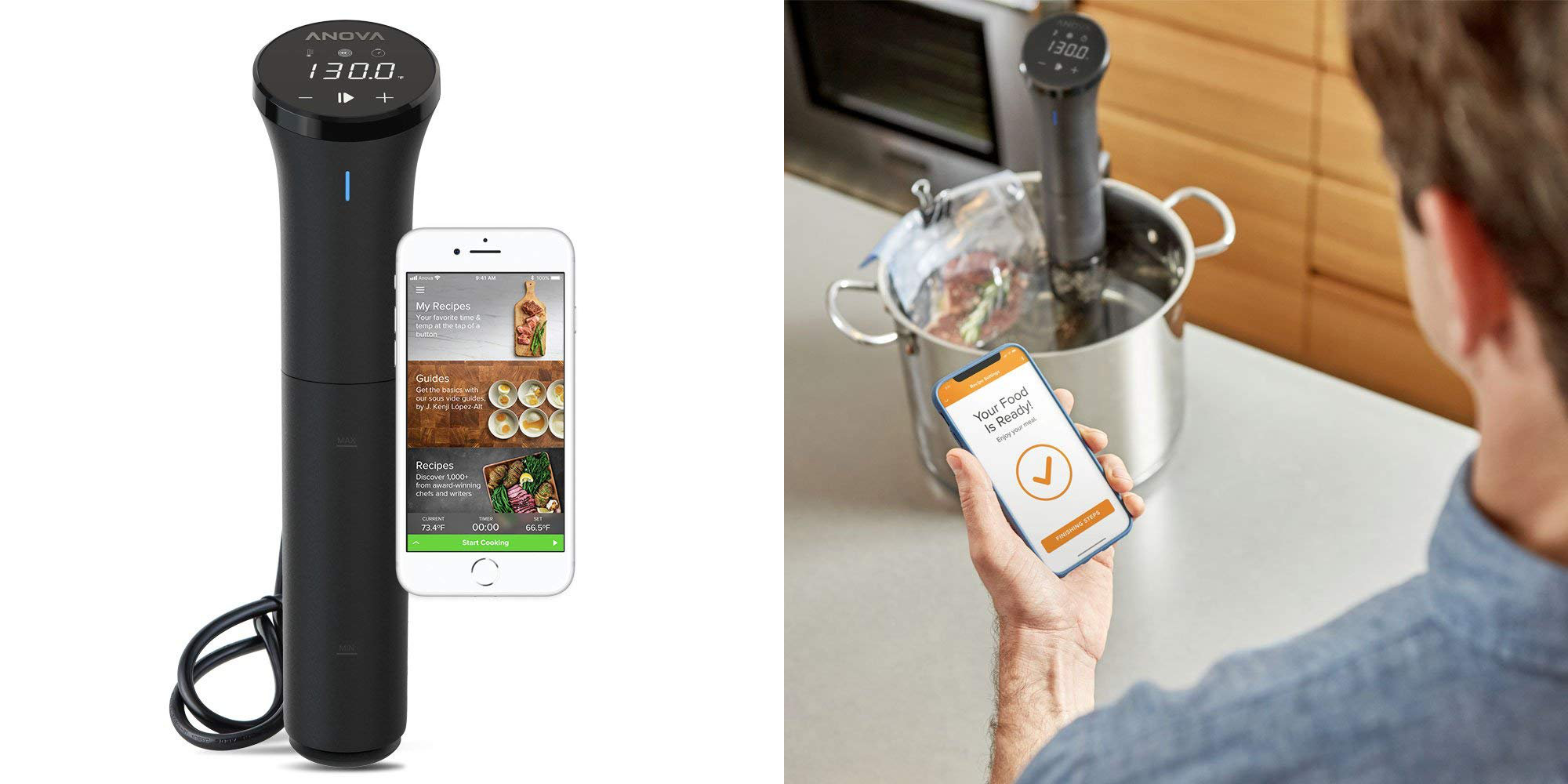 Anova Sous Vide Precision Cooker Nano Returns To 80 Shipped W This Code 20 Off 9to5toys